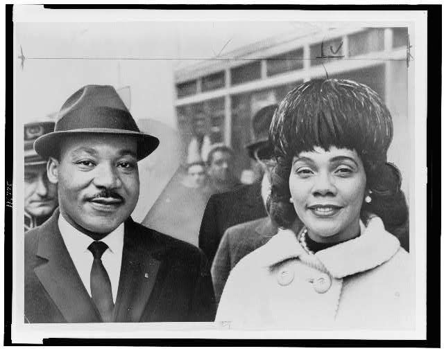 Martin Luther KING Jr (1929-1968).