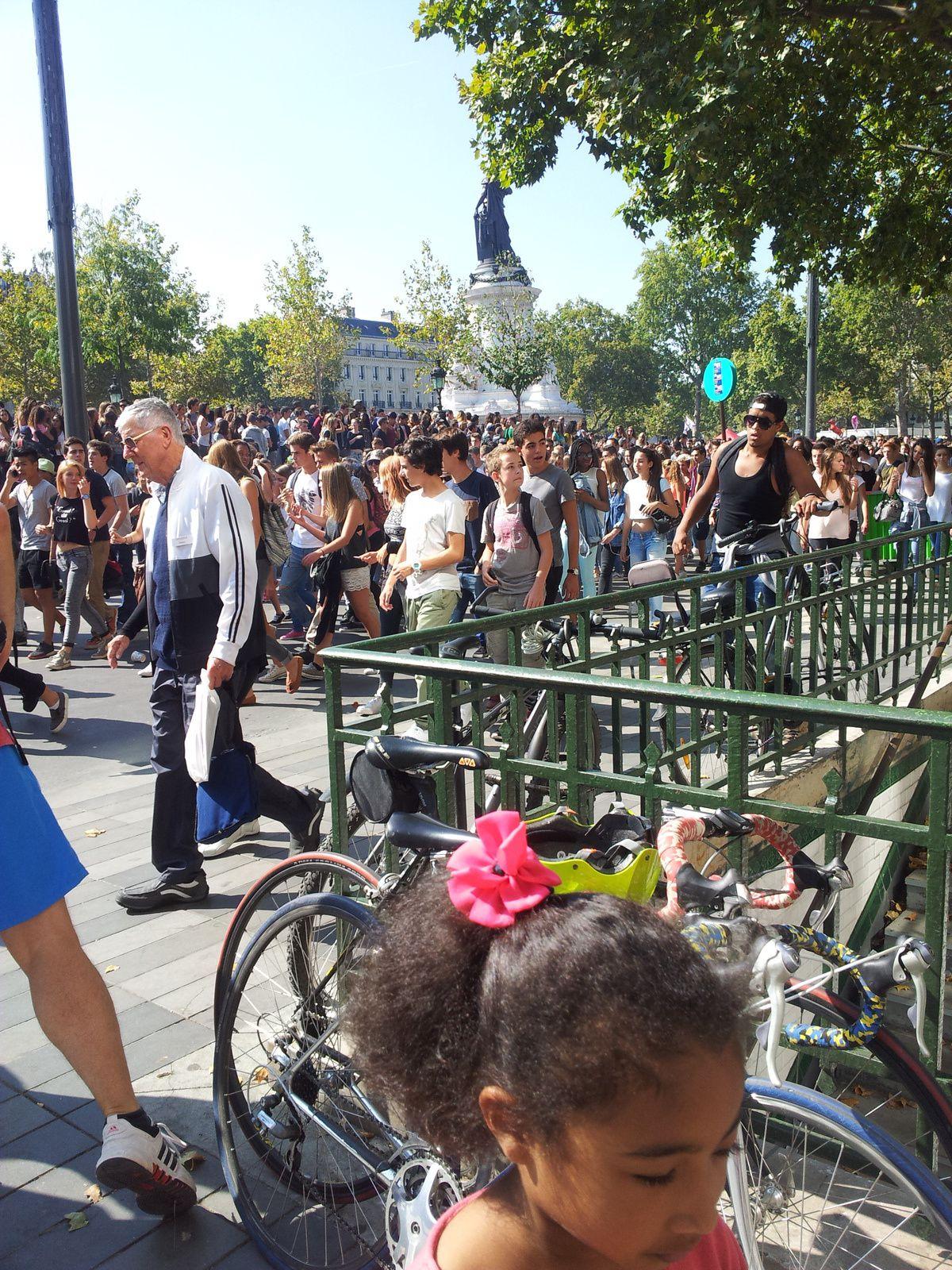 Ballades dans Paris, 13 et 14 septembre 2014.