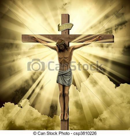 Représentation libre du Christ.
