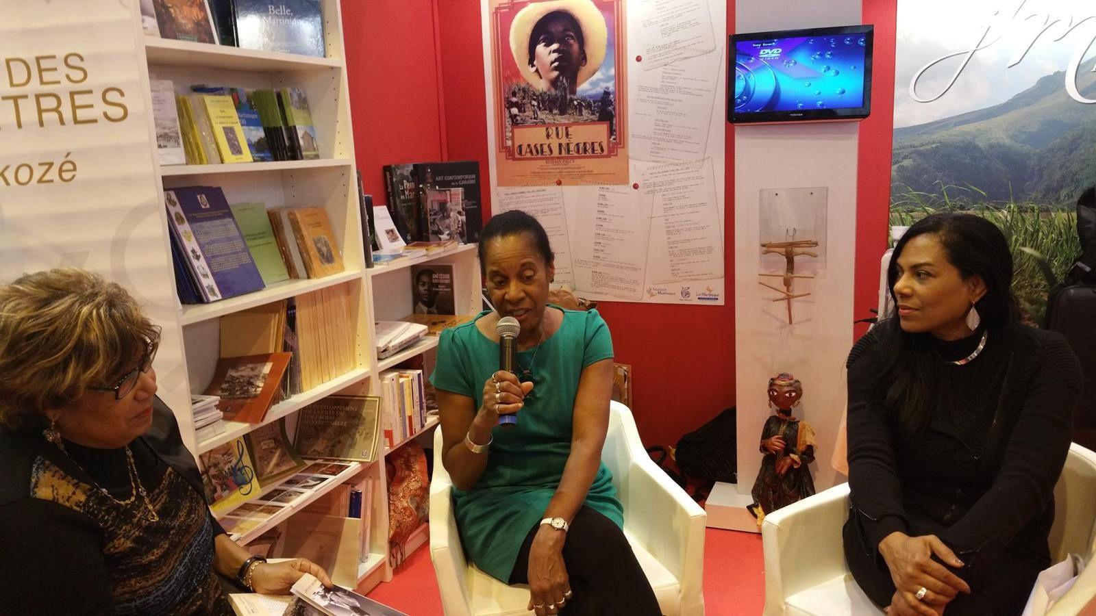 Rencontre avec Euzhan PALCY, réalisatrice du film «Rue case-nègres», d'après l'œuvre de Joseph ZOBEL, par M. Amadou Bal BA - Baamadou.over-blog.fr ;