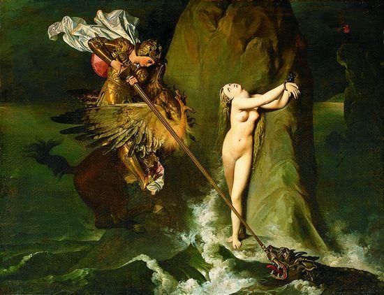 INGRES Jean-Auguste-Dominique, (29 août 1780 Montauban, 14 janvier 1867 à Paris), peintre du néo-classicisme et symbole de la modernité», par Amadou Bal BA - http://baamadou.over-blog.fr/.