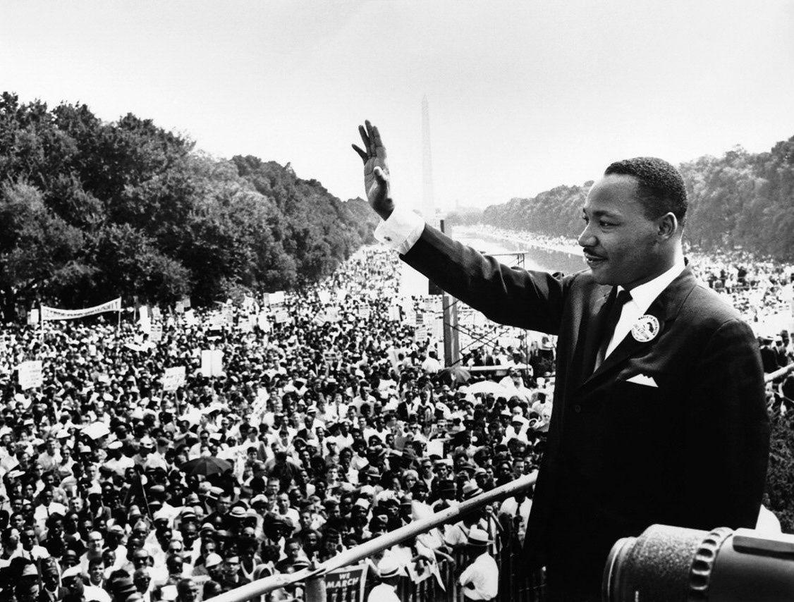 «Martin Luther King (Atlanta, 15 janvier 1929 – Memphis, 4 avril 1968), son discours du 28 août 1963 ou le rêve d'un monde plus fraternel et plus juste», par M. Amadou Bal BA, http://baamadou.over-blog.fr/.