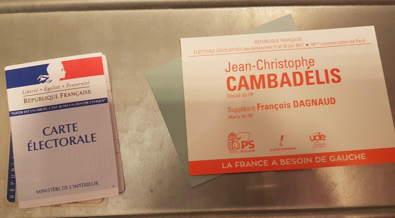 &quot&#x3B;Le 1er tour des élections législatives du 11 juin 2017 en France&quot&#x3B; par M. Amadou Bal BA-http://baamadou.over-blog.fr/