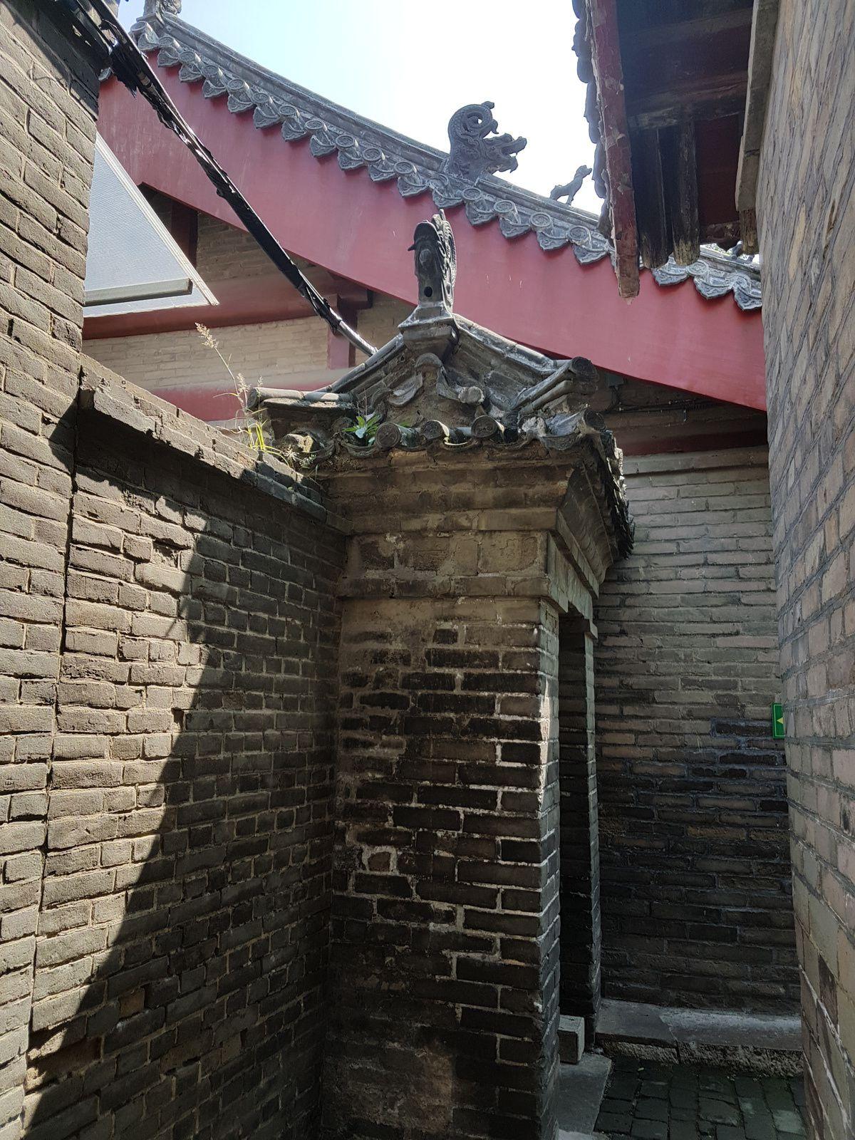 Temple, maison et cimetière où se trouve la tombe de Confucius, à Qufu, dans la province du Shangdong, en Chine.