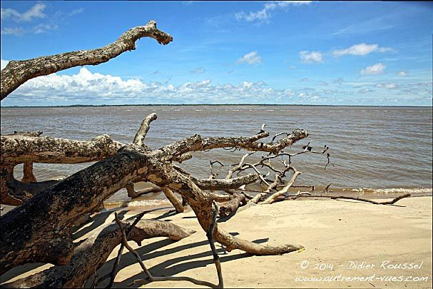 Awala, la plage