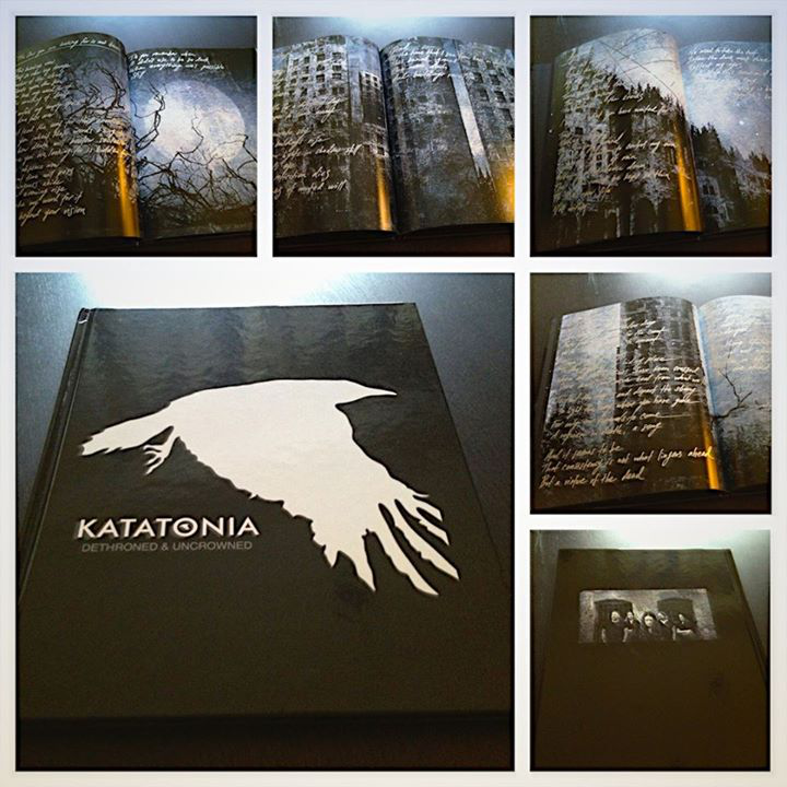 KATATONIA : WIN AN EXCLUSIVE 'DETHRONED & UNCROWNED' ARTBOOK