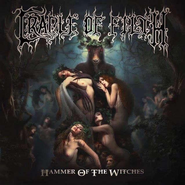 """""""Right Wing Of The Garden Triptych"""" is taken from CRADLE OF FILTH's eleventh studio album, """"Hammer Of The Witches"""", which will be released in July via Nuclear Blast."""