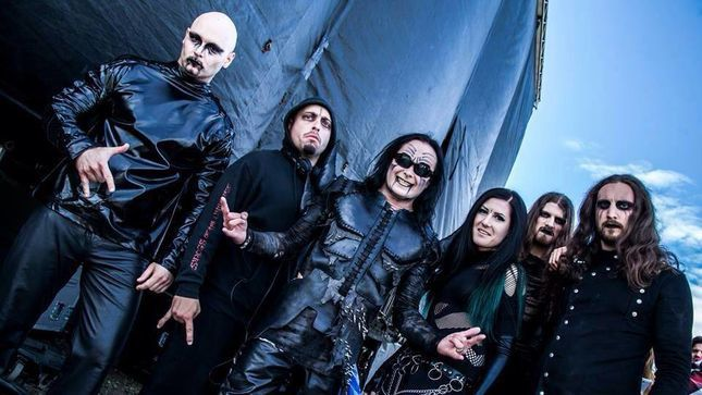 New CRADLE OF FILTH videoclip -  Right Wing Of The Garden Triptych