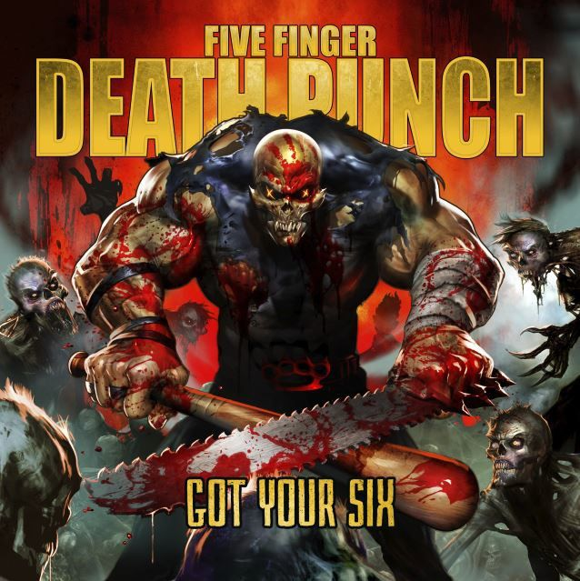 5 FINGER DEATH PUNCH new album out soon ! Got your six !