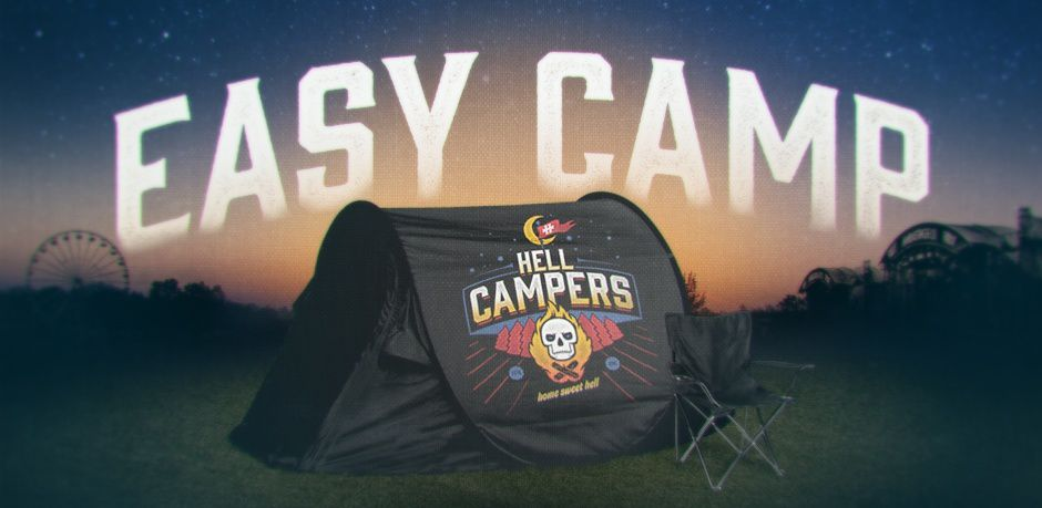 """Camping """"easy camp"""" HELLFEST 2015"""
