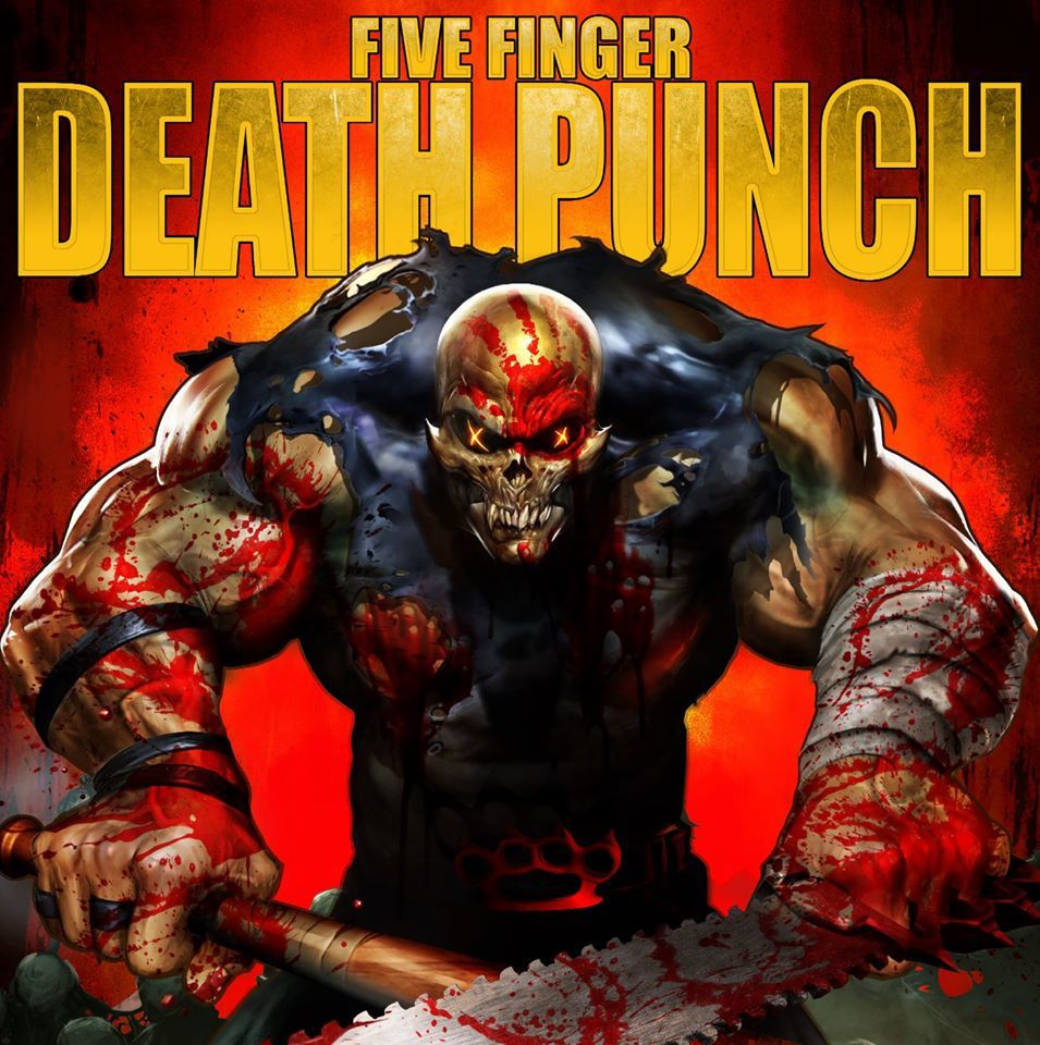 """New Interview with Chris KAEL from 5 FINGER DEATH PUNCH for new album """"Got your Six"""""""