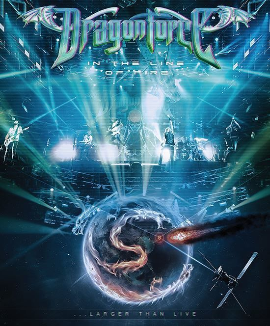 DRAGONFORCE: 'Black Winter Night' Performance Clip From 'In The Line Of Fire' DVD