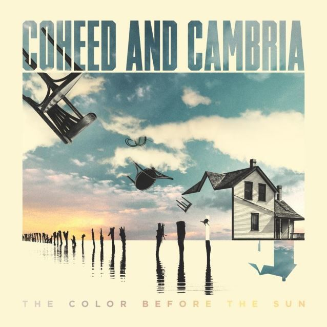 COHEED AND CAMBRIA: 'The Color Before The Sun' Artwork