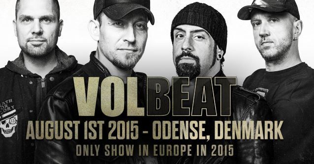 Video: VOLBEAT Performs New Song 'The Devil's Bleeding Crown' In Full For First Time