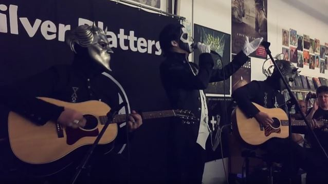 Video: GHOST Kicks Off 'Unholy/Unplugged' Tour In Seattle
