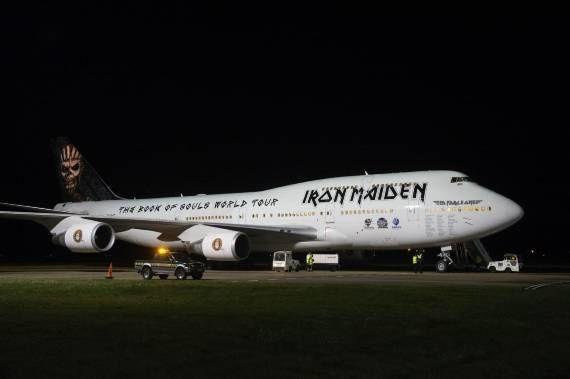 IRON MAIDEN vous présente son nouvel avion : le Ed Force One pour sa tournée mondiale