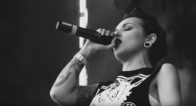 Nouvelle video des Ukrainiens de JINJER &quot&#x3B;Just another