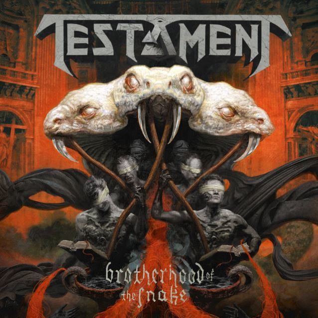 Nouvelle lyrics video de TESTAMENT &quot&#x3B;Brotherhood of the snake&quot&#x3B;