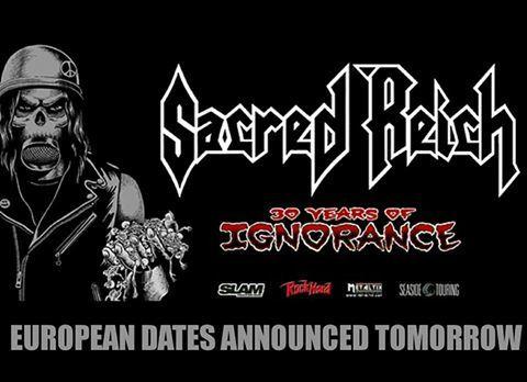 Sacred Reich annonce une tournée européenne