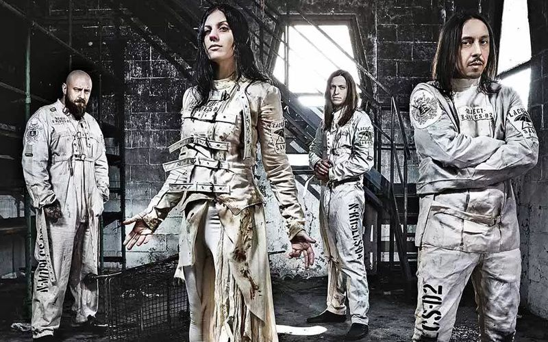 Nouveau très beau clip de LACUNA COIL &quot&#x3B;You love me cause I hate you&quot&#x3B;