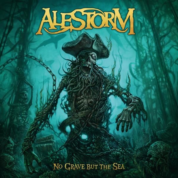 Le nouvel album d'ALESTORM &quot&#x3B;No Grave But the Sea&quot&#x3B; sort vendredi !!!