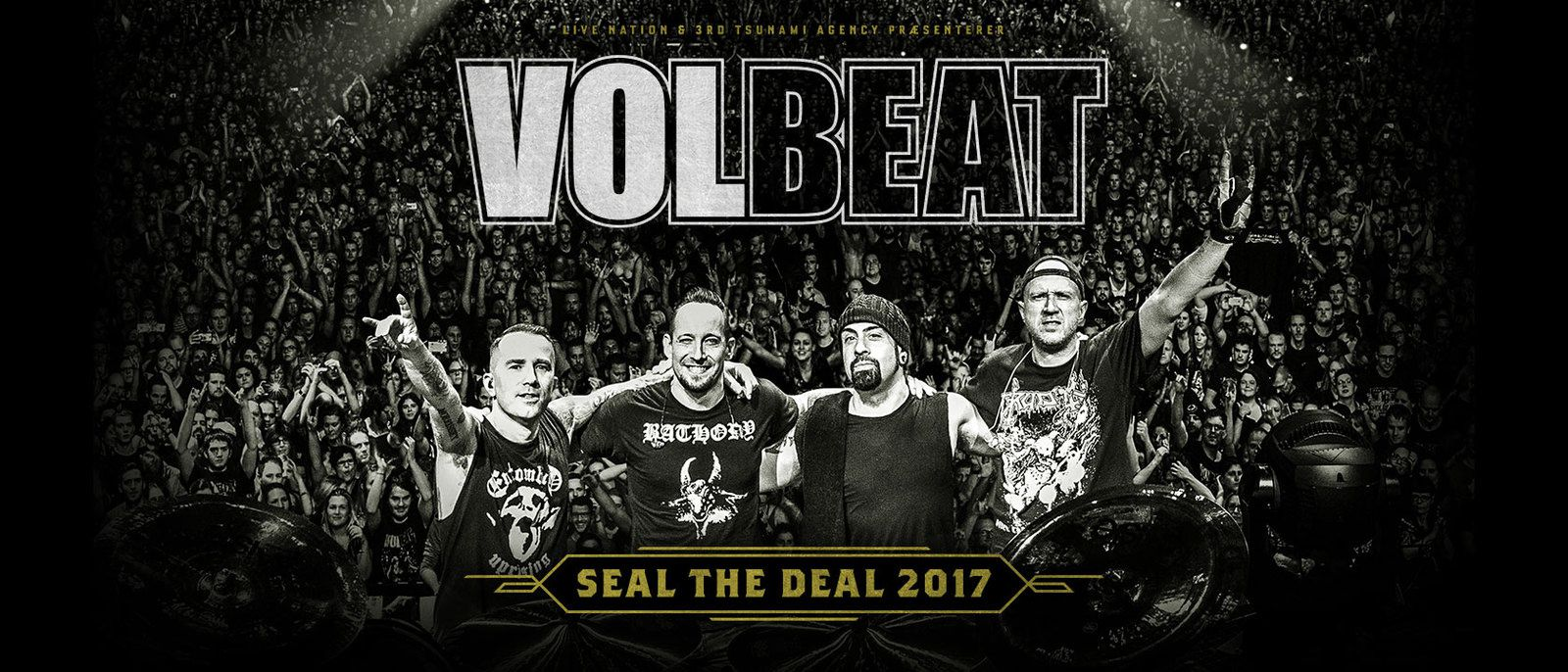 VOLBEAT live à Malmo &quot&#x3B;For Evigt&quot&#x3B;