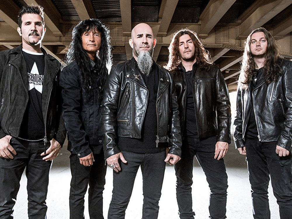 ANTHRAX Indians live