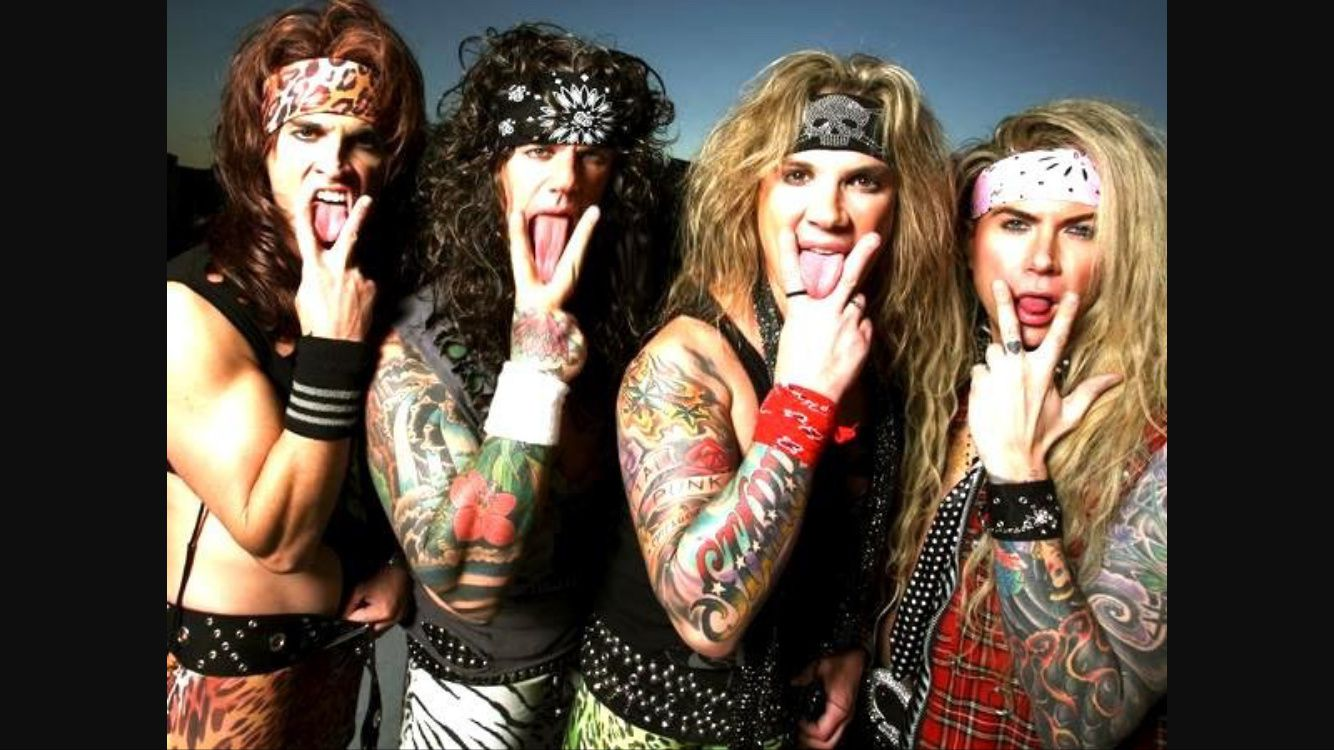 Nouvelle vidéo de Steel Panther Wasted Too Much Time ft. Stone Sour