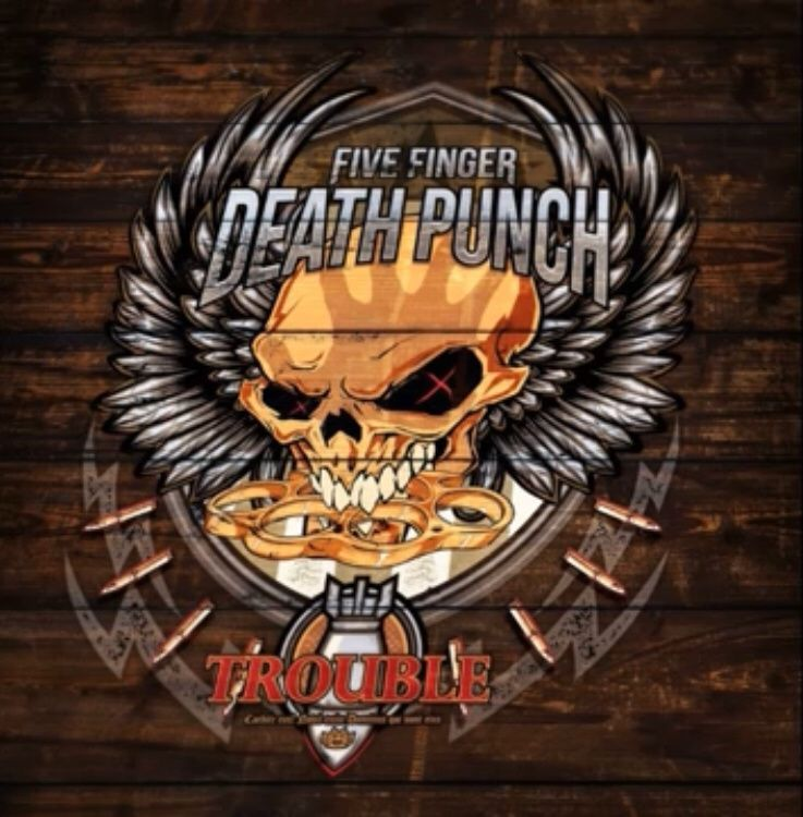 Exclusif ! Nouvelle chanson de FIVE FINGER DEATH PUNCH ! Trouble