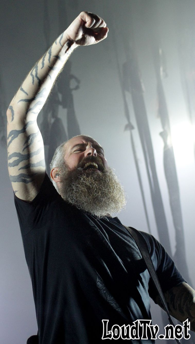 Photos d'IN FLAMES à l'Olympia hier
