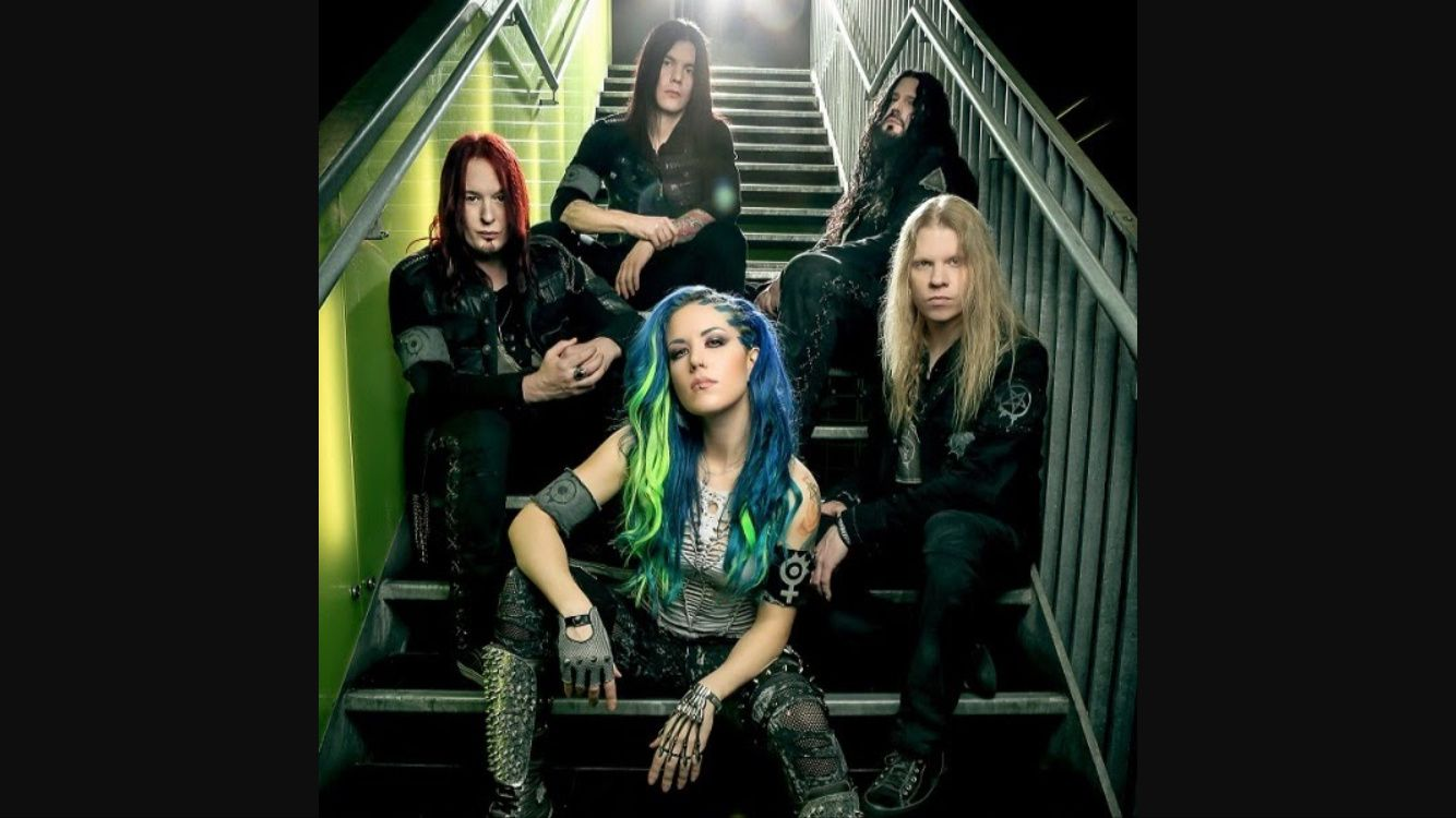 ARCH ENEMY - The world is yours live