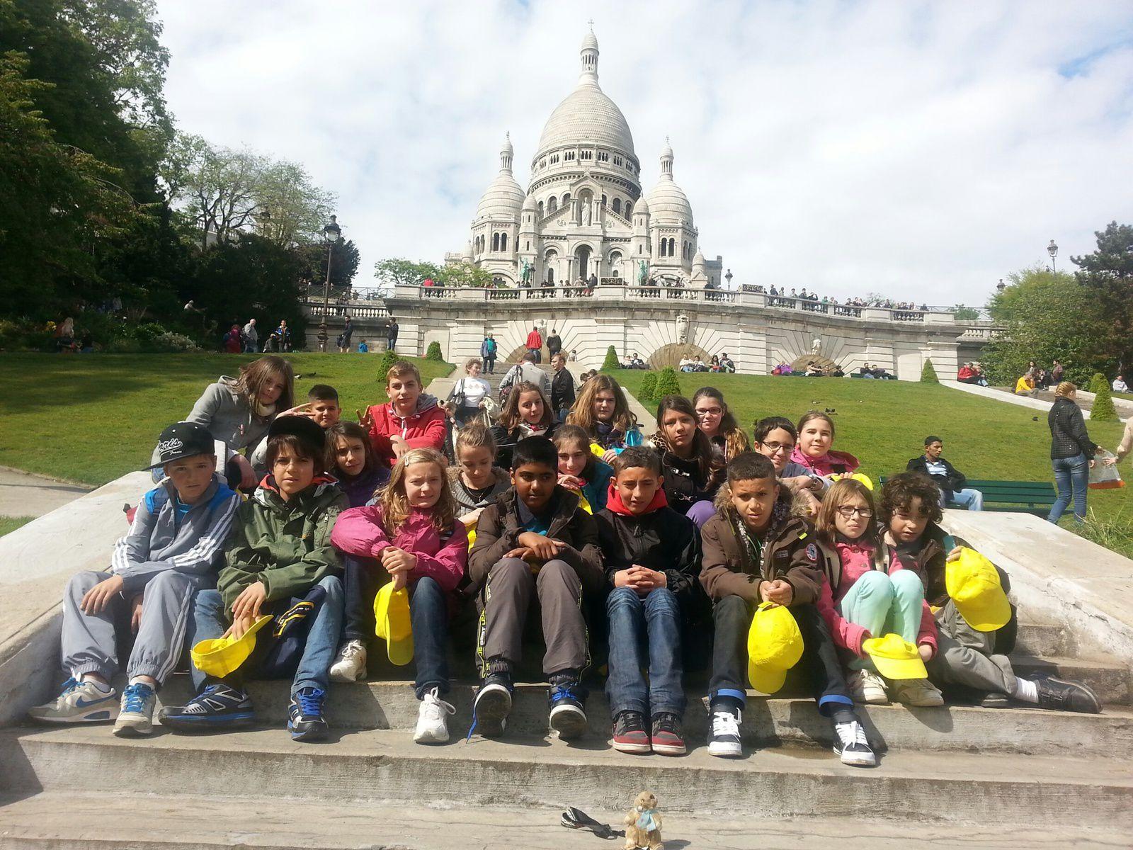 Séjour à Paris : 1ère journée