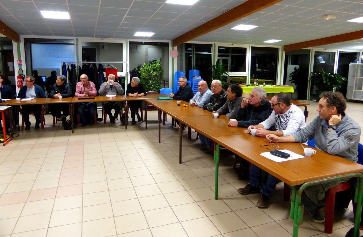 La Courbe et camps : Réunion bilan