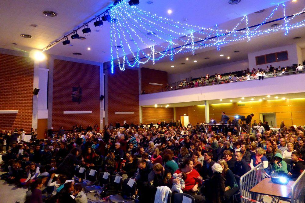 Spectacle de Noël au Forum