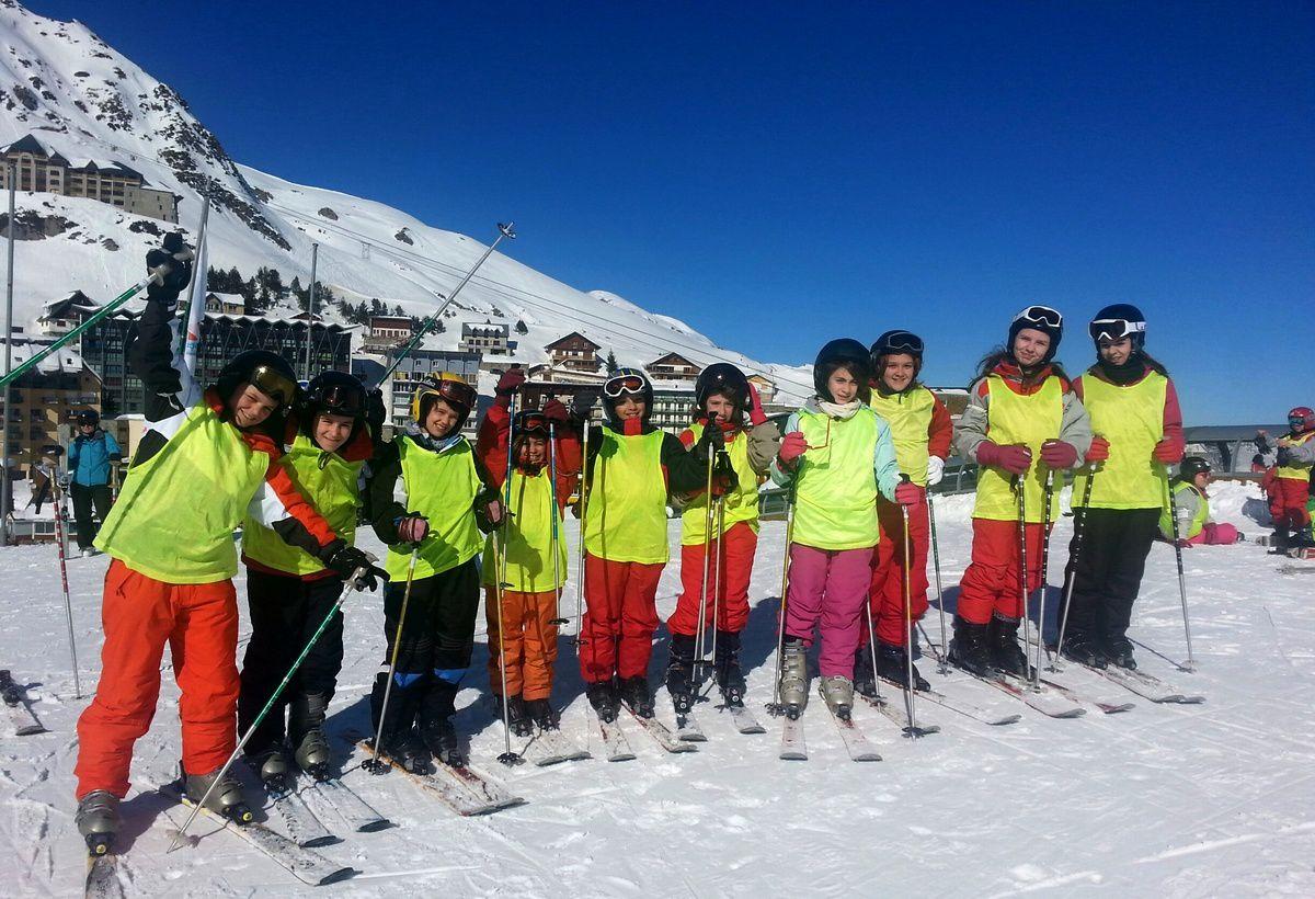 Séjour ski : Journée du lundi 09 février