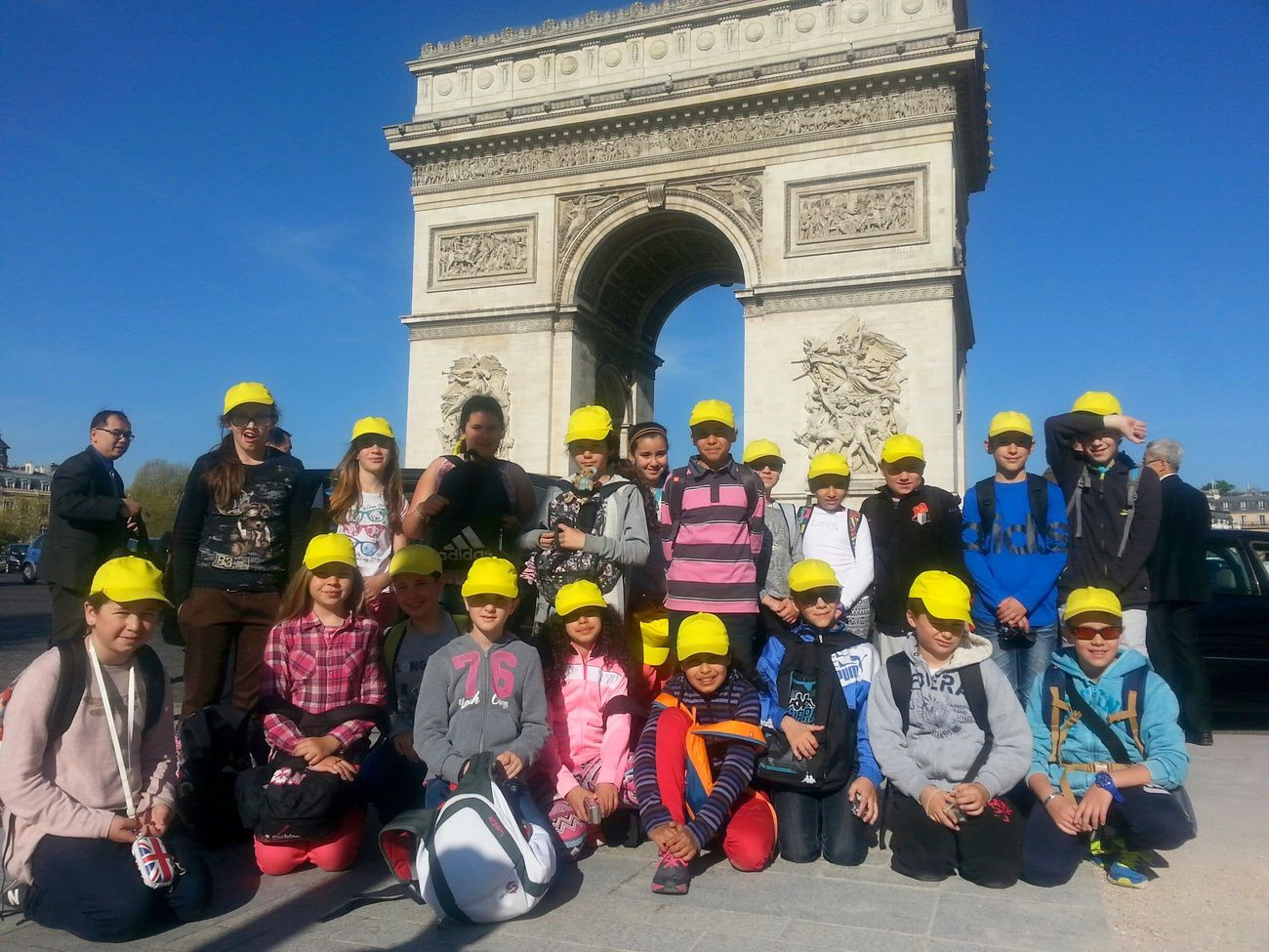 Séjour à Paris : Journée du mercredi 15 avril 2015