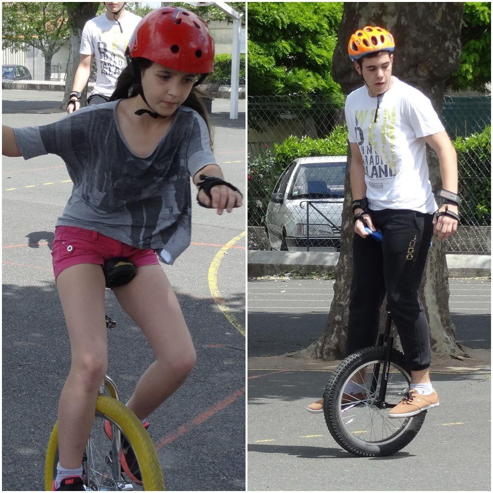 Monocycle à l'Albertarié avec Pasdetrac !