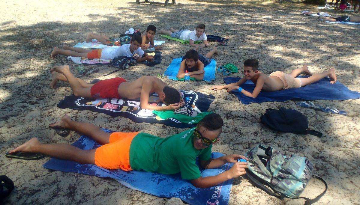 Camp Arcachon : 3ème séjour