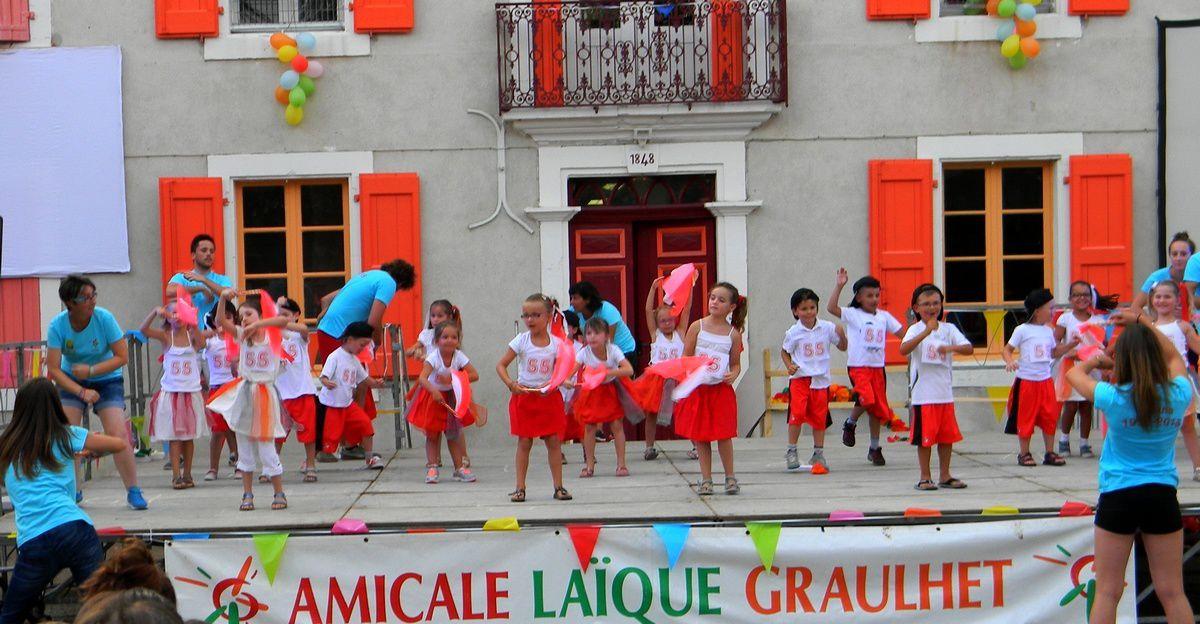 Fête de La Courbe : Spectacle des maternelles