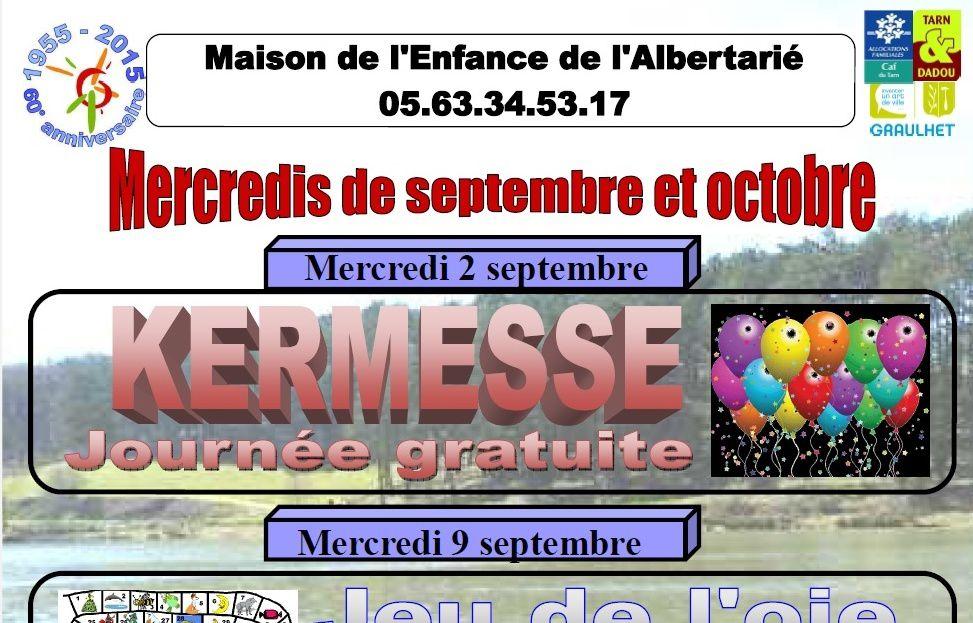 AL & ME : Programmes mercredis septembre - octobre 2015