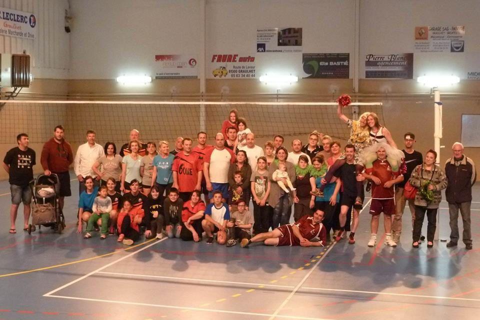 Dans la presse : Team Hôpital vainqueur du tournoi de volley