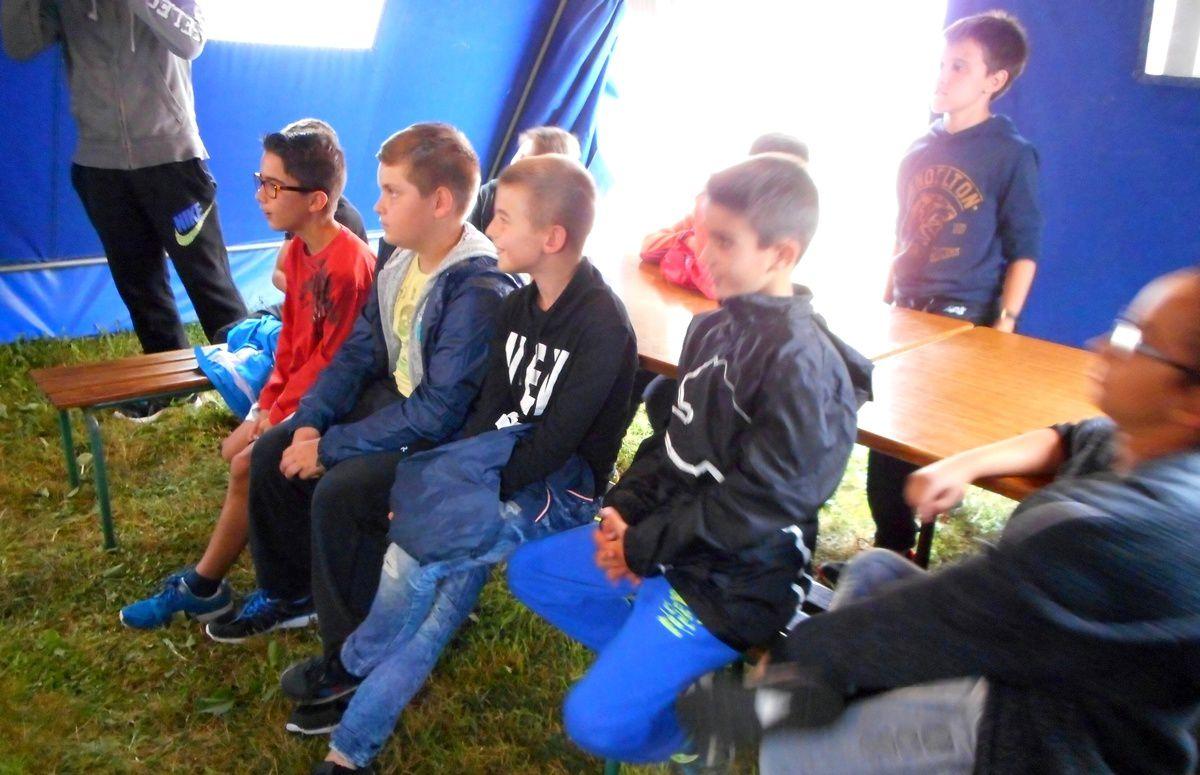 Camp Saint-Antonin 1er séjour 2016 : Mardi 12 juillet