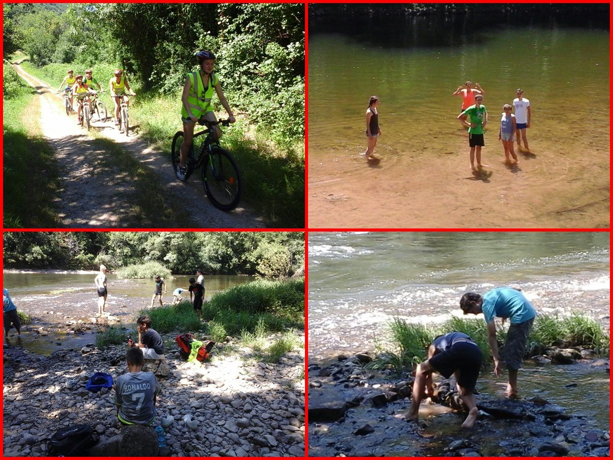 Camp Saint-Antonin 2ème séjour 2016 : Mardi 19 juillet
