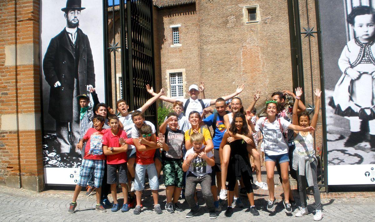 La Courbe été 2016 : Les préados à Albi