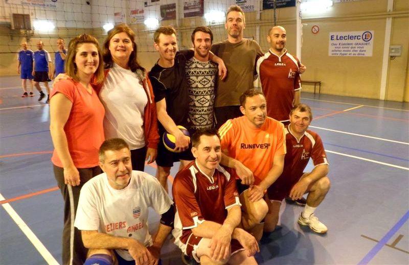 Volley : L'équipe Gend-Press vainqueur