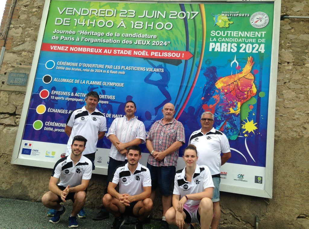 Le CEM et le SCG soutiennent activement la candidature de Paris 2024./ Photo DDM, J-C C.