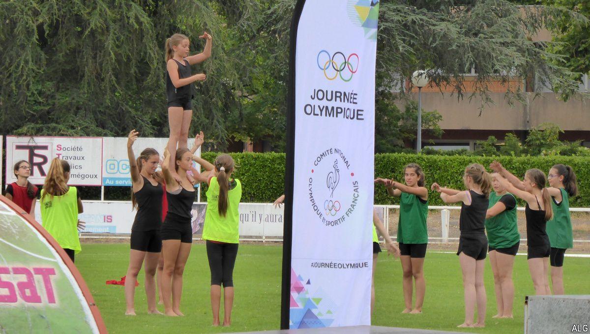 Graulhet : Mini-olympiades en soutien à Paris 2024