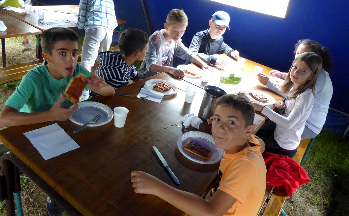 Camp Saint-Antonin 1er séjour 2017 : Vendredi 14 juillet