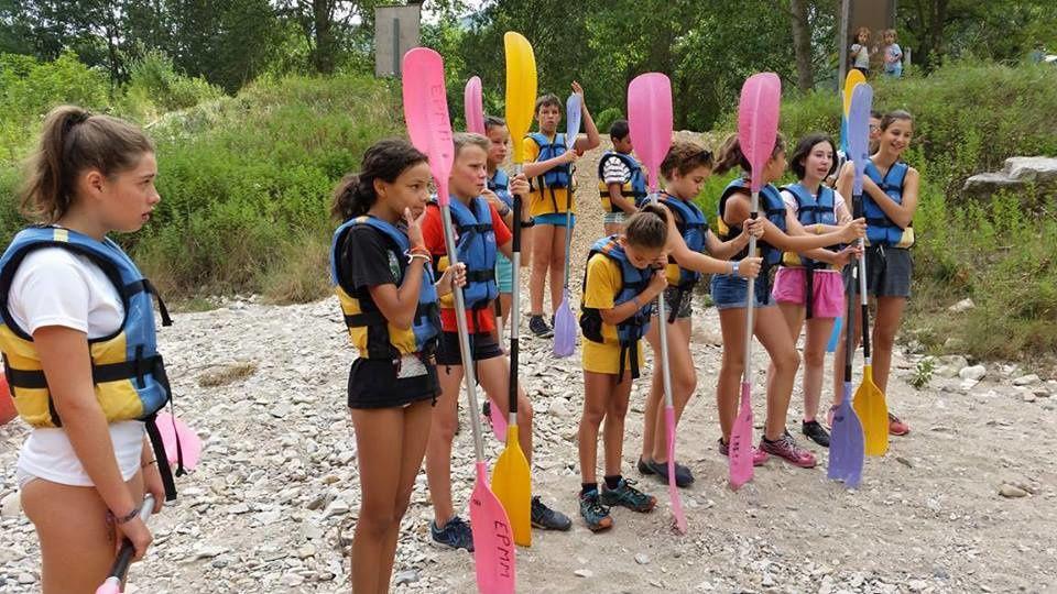Camp Sainte-Énimie 2017 : Mardi 1°  août