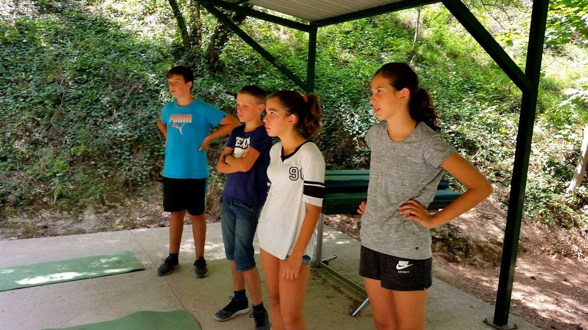Camp Sainte-Énimie 2017 : Mercredi 2  août